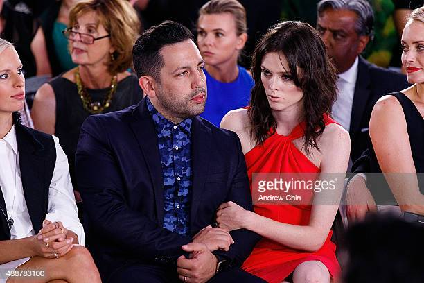 James Conran and Coco Rocha attend Nordstrom Vancouver Store Opening Gala Fashion Show at Vancouver Art Gallery on September 16 2015 in Vancouver...