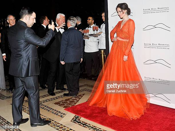 James Conran and Coco Rocha attend the 2012 Silver Hill Hospital Gala at Cipriani 42nd Street on November 28 2012 in New York City
