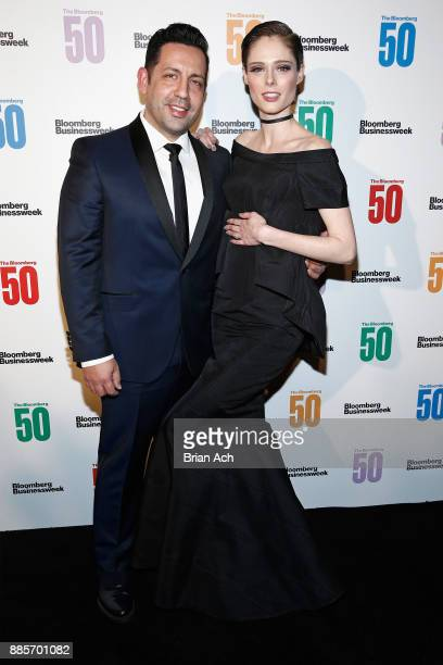 James Conran and model Coco Rocha attend The Bloomberg 50 Celebration at Gotham Hall on December 4 2017 in New York City