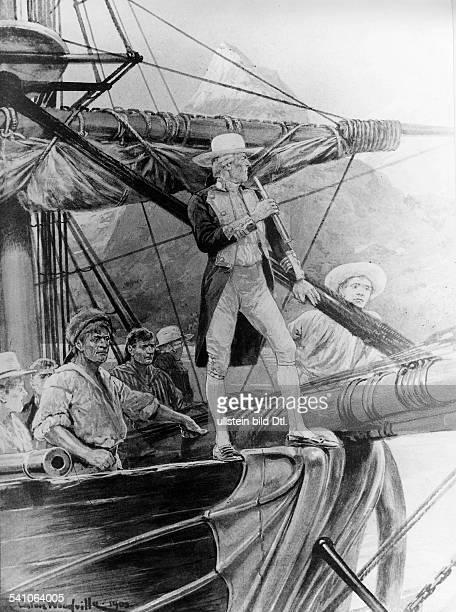 James Cook 2710172814021779Seefahrer Entdecker GrossbritannienCook umsegelt Neuseeland 1769