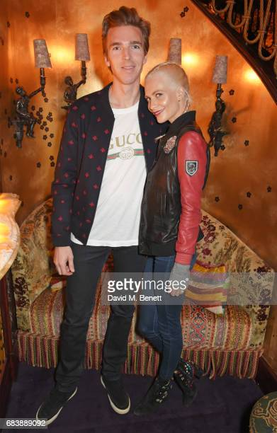 James Cook and Poppy Delevingne attend the 'Can't Stop Won't Stop A Bad Boy Story' dinner hosted by Sean 'Diddy' Combs Naomi Campbell presented by...