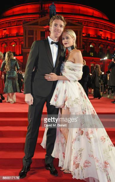 James Cook and Poppy Delevingne attend The Fashion Awards 2017 in partnership with Swarovski at Royal Albert Hall on December 4 2017 in London England