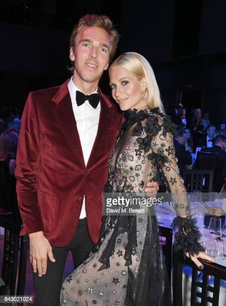 James Cook and Poppy Delevingne attend the GQ Men Of The Year Awards at the Tate Modern on September 5 2017 in London England