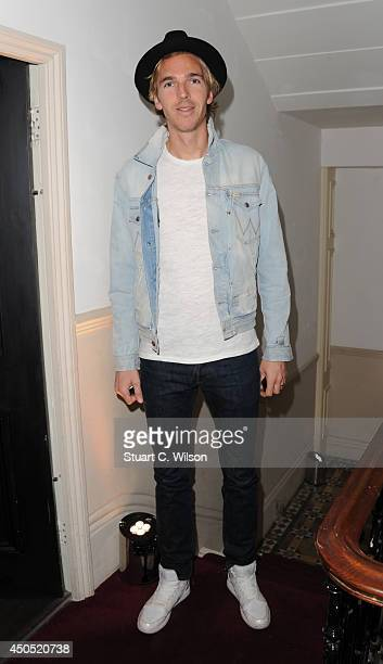 James Cook attends 'Heist' launch London's first 'AntiGallery' showcasing fine art photography from around the world on June 12 2014 in London England