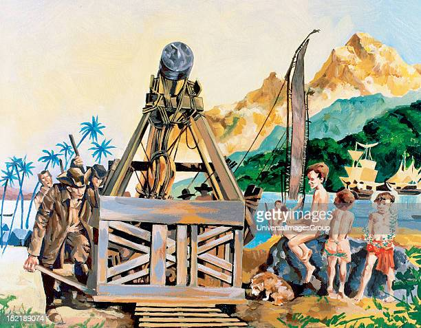 James Cook British explorer and cartographer Calculation the astronomical unit in Tahiti