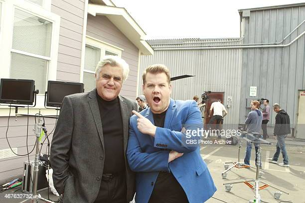 James Corden and Jay Leno filmed a sketch detailing Corden's journey to becoming the new host of The Late Late Show which aired on the season...
