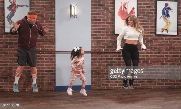 James Corden and Jennifer Lopez perform Toddlerography on the Primetime Special of 'The Late Late Show with James Corden' Monday May 22nd 2017 On The...