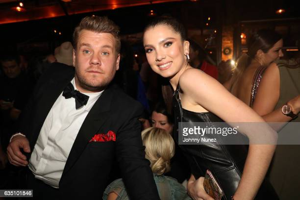 James Corden and Maya Henry attend the Republic Records GRAMMY After Party at Catch LA on February 12 2017 in West Hollywood California