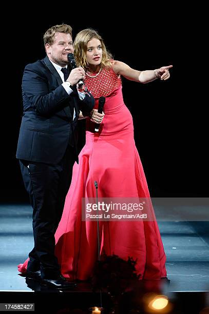 James Corden and Natalia Vodianova attend the dinner at 'Love Ball' hosted by Natalia Vodianova in support of The Naked Heart Foundation at Opera...