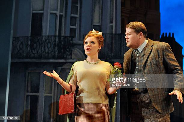 James Corden as Francis Henshall and Suzie Toase as Dolly in Richard Bean's 'One ManTwo Guvnors' an adaptation of Carlo Goldoni's 'A Servant of Two...