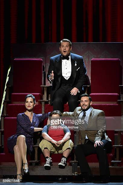 James Corden at THE 70TH ANNUAL TONY AWARDS live from the Beacon Theatre in New York City Sunday June 12 on the CBS Television Network