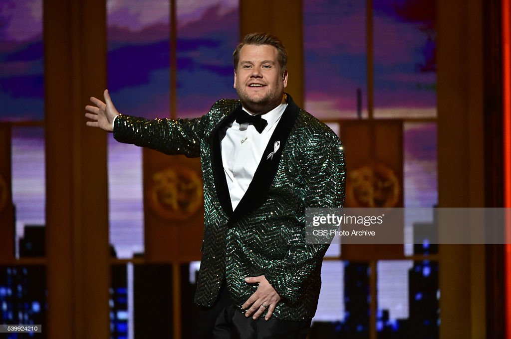 James Corden at THE 70TH ANNUAL TONY AWARDS, live from the Beacon Theatre in New York City, Sunday, June 12 (8:00-11:00 PM, live ET/ delayed PT) on the CBS Television Network.