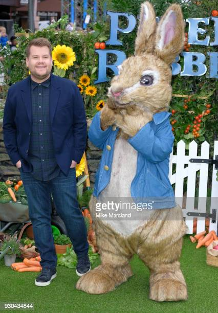 James Corden attends 'Peter Rabbit' UK Gala Screening at Vue West End on March 10 2018 in London England
