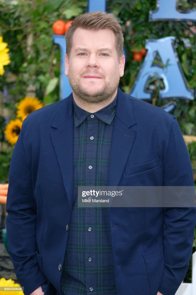 James Corden attends 'Peter Rabbit' UK Gala Screening at Vue West End on March 10, 2018 in London, England.