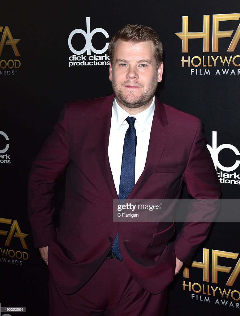 James Corden attends the 19th Annual Hollywood Film Awards at The Beverly Hilton Hotel on November 1, 2015 in Beverly Hills, California.