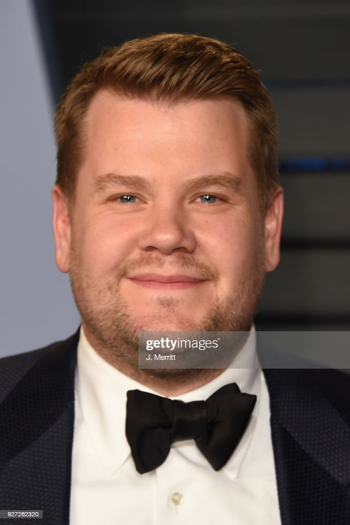 James Corden attends the 2018 Vanity Fair Oscar Party hosted by Radhika Jones at the Wallis Annenberg Center for the Performing Arts on March 4, 2018 in Beverly Hills, California.