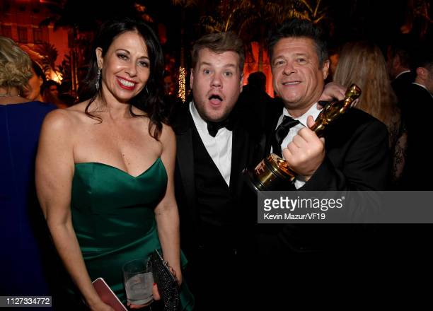 James Corden attends the 2019 Vanity Fair Oscar Party hosted by Radhika Jones at Wallis Annenberg Center for the Performing Arts on February 24 2019...