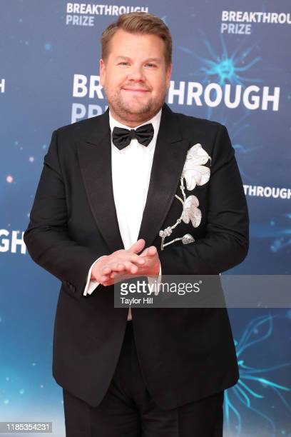 James Corden attends the 2020 Breakthrough Prize Ceremony at NASA Ames Research Center on November 03 2019 in Mountain View California