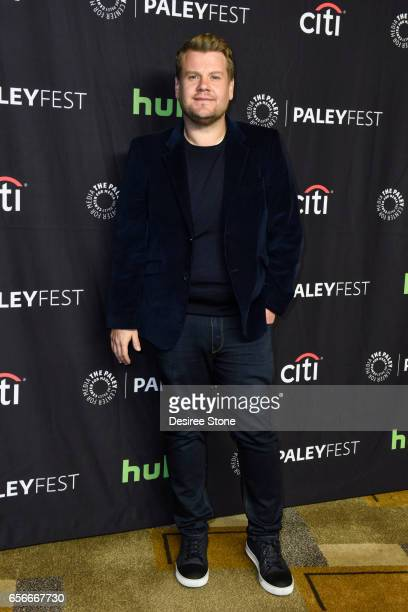 James Corden attends The 34th Annual PaleyFest Los Angeles An Evening of Laughs with James Corden and The Late Late Show at Dolby Theatre on March 22...