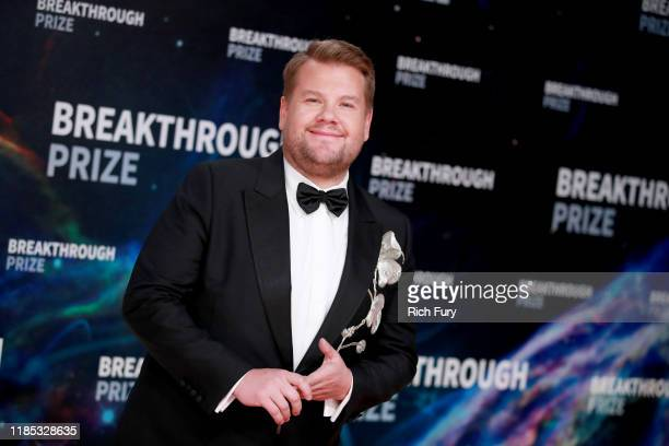 James Corden attends the 8th Annual Breakthrough Prize Ceremony at NASA Ames Research Center on November 03 2019 in Mountain View California
