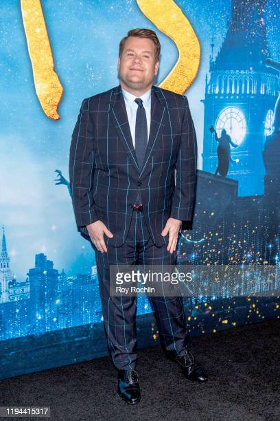 """James Corden attends the """"Cats"""" World Premiere at Alice Tully Hall, Lincoln Center on December 16, 2019 in New York City."""