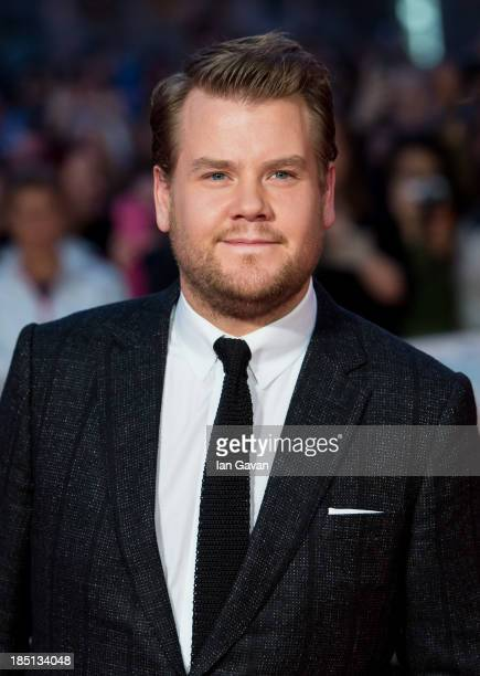 James Corden attends the European premiere of One Chance at The Odeon Leicester Square on October 17 2013 in London England