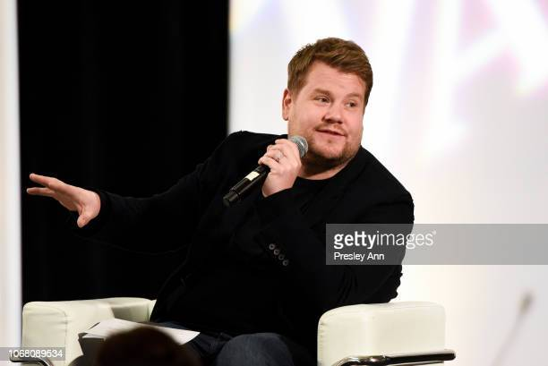 James Corden attends The Hollywood Chamber's 7th Annual State Of The Entertainment Industry Conference Presented By Variety at Loews Hollywood Hotel...
