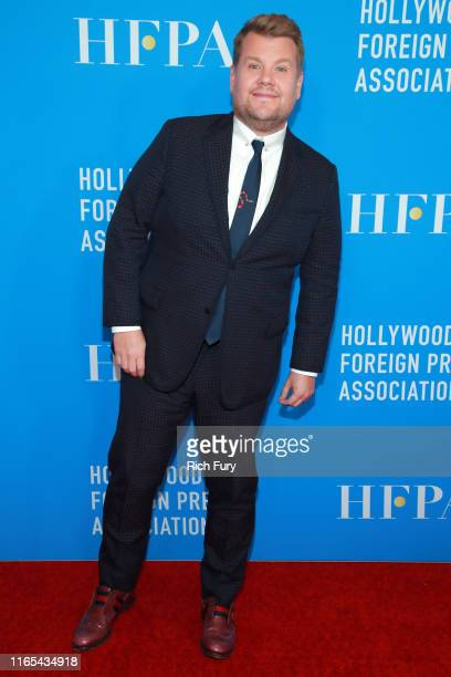 James Corden attends the Hollywood Foreign Press Association's Annual Grants Banquet at Regent Beverly Wilshire Hotel on July 31 2019 in Beverly...