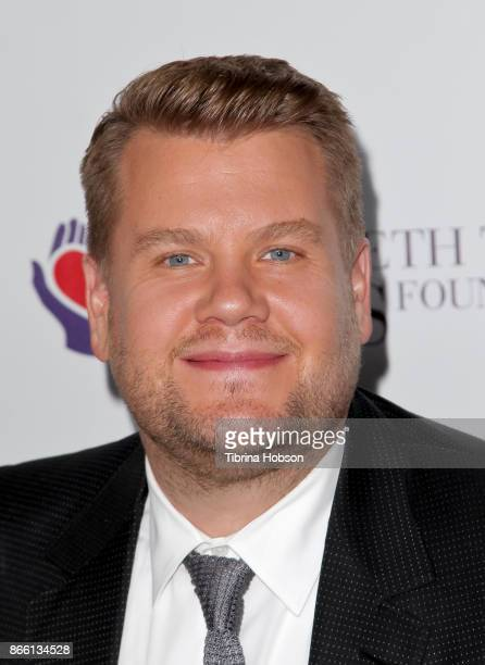 James Corden attends the mothers2mothers and The Elizabeth Taylor AIDS Foundation Benefit Dinner on October 24 2017 in Beverly Hills California