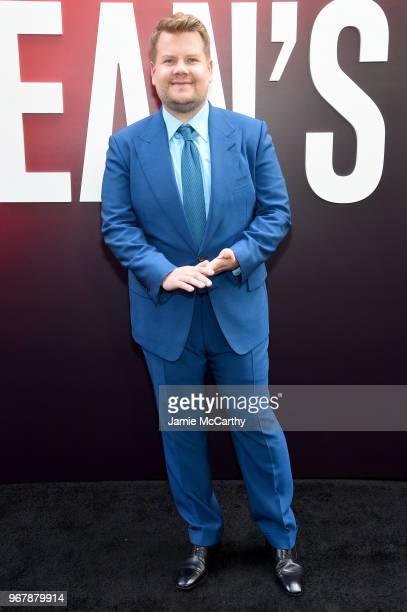 James Corden attends the Ocean's 8 World Premiere at Alice Tully Hall on June 5 2018 in New York City