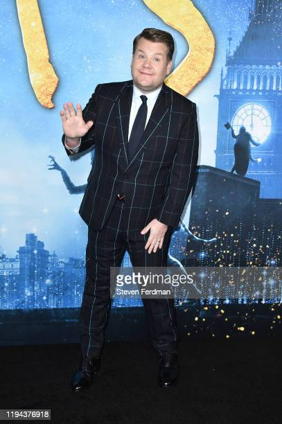 James Corden attends the world premiere of Cats at Alice Tully Hall Lincoln Center on December 16 2019 in New York City