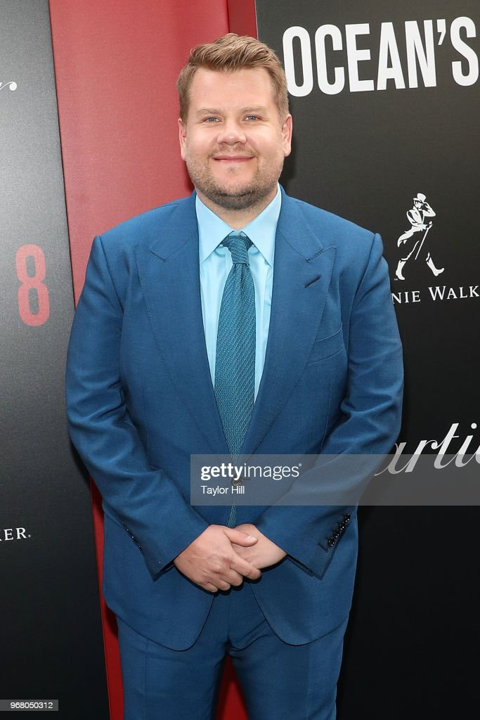 James Corden attends the world premiere of 'Ocean's 8' at Alice Tully Hall at Lincoln Center on June 5, 2018 in New York City.