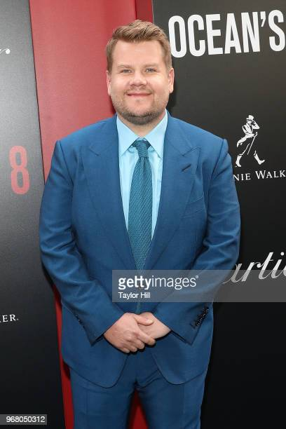 James Corden attends the world premiere of Ocean's 8 at Alice Tully Hall at Lincoln Center on June 5 2018 in New York City