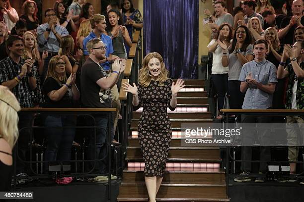 James Corden chats with Carli Lloyd Chris Tucker and Judy Greer on The Late Late Show with James Corden Monday July 13 2015 on The CBS Television...