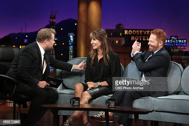 James Corden chats with Jesse Tyler Ferguson and Allison Janney on Monday September 21st on The CBS Television Network