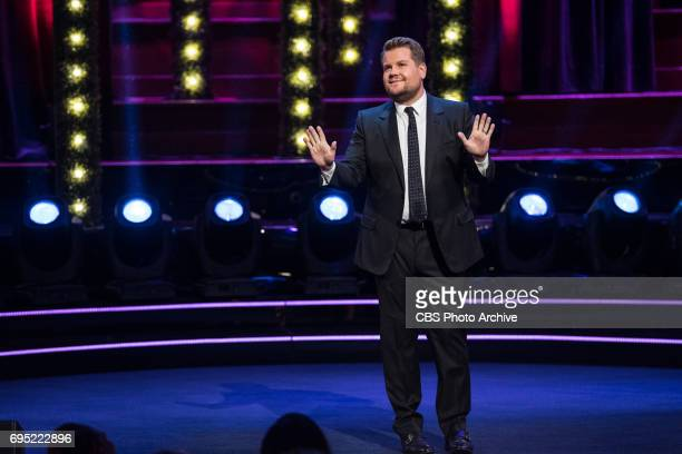 James Corden greets the audience on The Late Late Show with James Corden' airing Wednesday June 7th 2017 from London On The CBS Television Network