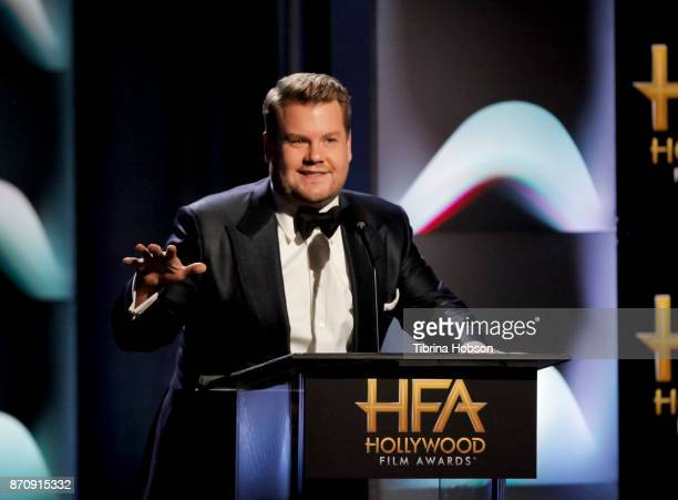 James Corden hosts the 21st annual Hollywood Film Awards at The Beverly Hilton Hotel on November 5 2017 in Beverly Hills California
