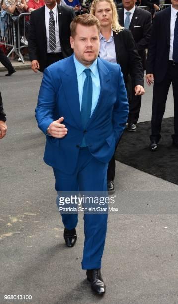 James Corden is seen on June 5 2018 is seen in New York City
