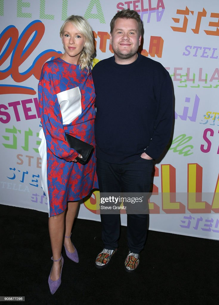 James Corden, Julia Carey arrives at the Stella McCartney's Autumn 2018 Collection Launch on January 16, 2018 in Los Angeles, California.