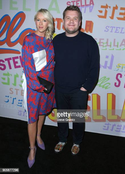 James Corden Julia Carey arrives at the Stella McCartney's Autumn 2018 Collection Launch on January 16 2018 in Los Angeles California