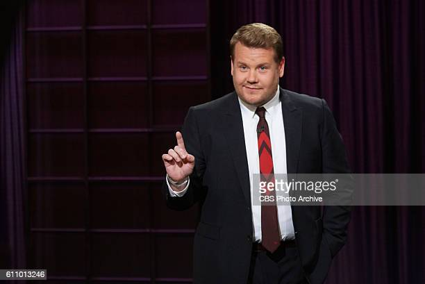 James Corden on 'The Late Late Show with James Corden' Thursday Sept 1 On the CBS Television Network