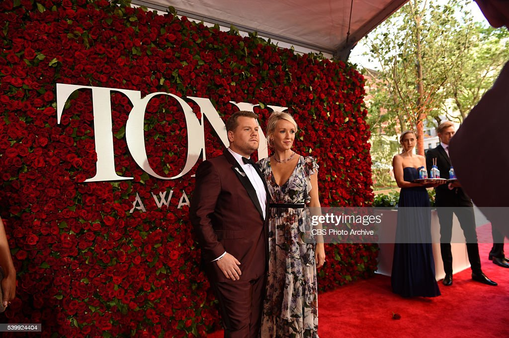 James Corden on the red carpet at THE 70TH ANNUAL TONY AWARDS, live from the Beacon Theatre in New York City, Sunday, June 12 (8:00-11:00 PM, live ET/ delayed PT) on the CBS Television Network.