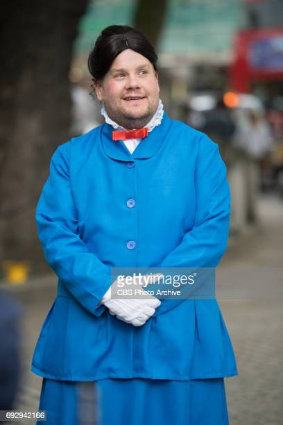 James Corden performs Crosswalk the Musical Mary Poppins in London during 'The Late Late Show with James Corden' airing Tuesday June 6th 2017 from...