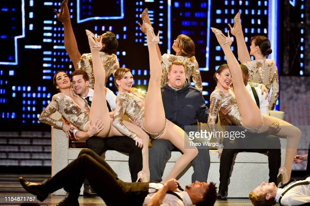 James Corden performs onstage during the 2019 Tony Awards at Radio City Music Hall on June 9 2019 in New York City