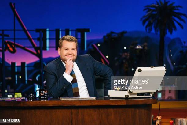 James Corden performs the monologue during 'The Late Late Show with James Corden' Wednesday June 21 2017 On The CBS Television Network