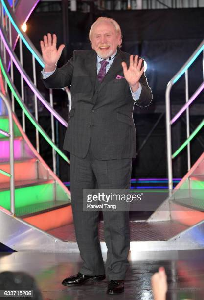 James Cosmo is evicted from the Celebrity Big Brother house on February 3 2017 in Borehamwood United Kingdom