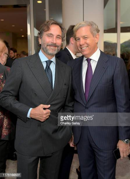 James Costos and Michael S. Smith attend The J. Paul Getty Medal Dinner 2019 at The Getty Center on September 16, 2019 in Los Angeles, California.