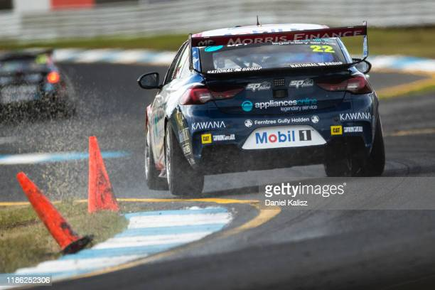 James Courtney drives the Mobil 1 Racing Holden Commodore ZB during practice for the Sandown 500 part of the 2019 Supercars Championship on November...