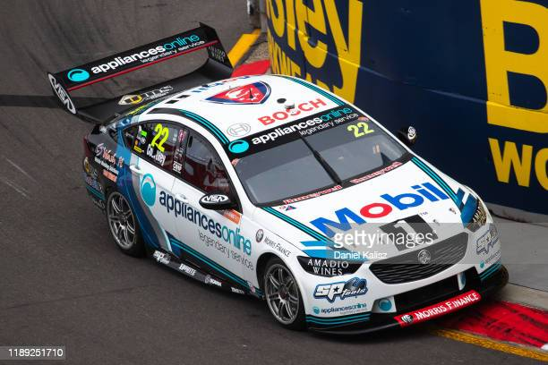 James Courtney drives the Mobil 1 Racing Holden Commodore ZB during practice for the Newcastle 500 as part of the 2019 Supercars Championship on...