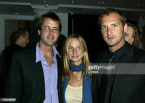 """James Cox, Holly Wiersma, and Josh Lucas during 2003 Toronto International Film Festival - Club Monaco hosts """"Wonderland"""" After-party in Toronto,..."""
